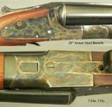 "L. C. SMITH- 12 BORE THAT REMAINS as NEW & APPEARS UNFIRED- 98% ORIG COND- 1949- 28"" Bbls.- 99% ORIG CASE COLORS - 2 of 4"