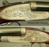 """HOLLAND & HOLLAND 500/450 3 1/4"""" N. E. ROYAL- 26"""" EXTRACT CHOPPER LUMP Bbls- COMPLETE ROYAL SCROLL ENGRAVING - 2 of 4"""