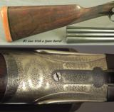 "JOSEPH LANG 12 SIDELOCK PAIR- VERY NICE 1913 PAIR- BUILT for C. LEDYARD BLAIR- #1 GUN with an EXTRA BARREL- ALL 28"" CHOPPER LUMP - 3 of 10"