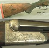 WESTLEY RICHARDS 470- A TRUE & FULL SIZE PROPER 470 at 12 Lbs. 3 Oz.- EXC BORES w/ SHARP RIFLING- 85% ENGRAVING COVERAGE- TOUGH - 2 of 4