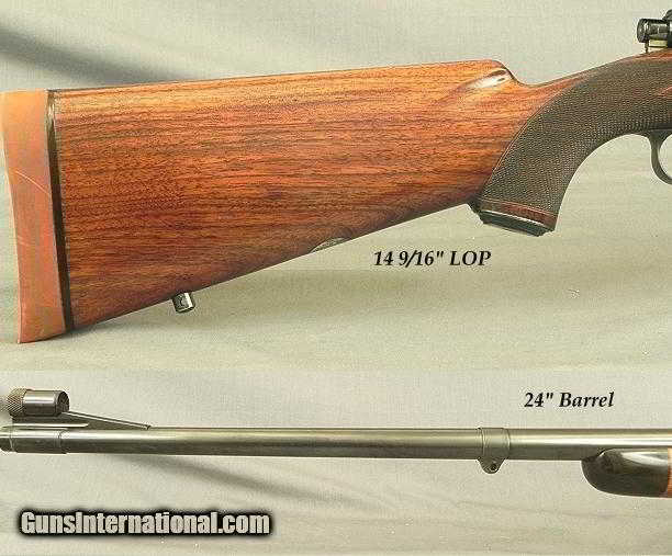 GRIFFIN & HOWE 30-06 MAUSER- MADE ABOUT 1939- LYMAN 48