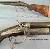 MANTON 8 BORE EXPRESS- 17 Lbs. 7 Oz. of REAL TURN of the CENTURY SPORT- 24