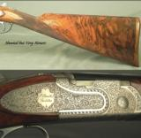 BERETTA 2002 28 BORE JUBILEE GALLERY PREMIUM GRADE- EXC WOOD- EXC ENGRAVING- 5 Lbs. 15 Oz.- HUNTED but OVERALL 94% - 3 of 4