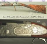 BERETTA 2002 28 BORE JUBILEE GALLERY PREMIUM GRADE- EXC WOOD- EXC ENGRAVING- 5 Lbs. 15 Oz.- HUNTED but OVERALL 94% - 1 of 4
