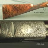 BERETTA 2002 28 BORE JUBILEE GALLERY PREMIUM GRADE- EXC WOOD- EXC ENGRAVING- 5 Lbs. 15 Oz.- HUNTED but OVERALL 94% - 2 of 4