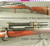 WESTLEY RICHARDS 318 ACCELERATED EXPRESS- MAUSER ACTION- 26