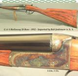 HOLLOWAY 28 BORE- JENKINSON in N.Y. IMPORT- MADE in 1952- REMAINS in 99% OVERALL COND.- EXC. ENGLISH DETAIL & WORKMANSHIP- NICE PIECE