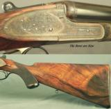 "LANCASTER 280 FLANGED- NEVER HUNTED & APPEARS UNFIRED- PRE-WAR PIECE FINISHED in 1946- SIDELOCK with 26"" CHOPPER LUMP Bbls.- 1946 NEW - 5 of 6"