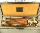 BROWNING BELGIUM 16 BORE SIDE by SIDE- #5 of 10 S x S's EVER MADE by FN for BROWNING- 1989 FN CENTENNIAL & THE DEATH of JOHN BROWNING