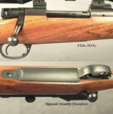 DAKOTA 280 REM. CLASSIC GRADE- A LOT of EXTRAS- UPGRADE NICE ENGLISH WALNUT- APPEARS UNFIRED- COND. at 98%- TALLEY BASES & RINGS- SWAROVSKI - 2 of 3