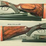 "WESTLEY RICHARDS 470 N. E. HAND DETACHABLE DROPLOCK- ORIG & LETTERED 21"" Bbls. for a MAHARAJA in 1911- MODERN INSTALLED 375 Flgd. & 20 Ga. Bbls. - 3 of 6"