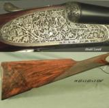 """PIOTTI 20 MOD LUNIK- 26"""" CHOPPER LUMP Bbls- 1985- DOUBLE TRIGGERS- ORIG & 98% COND- NICE WOOD- 5 Lbs. 10 Oz.- EXC. PLUS COND.- CASED- 2 of 4"""