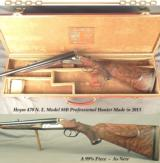"""HEYM 470 N. E. MOD 88B PRO HUNTER- 26"""" EJECT Bbls.- OVERALL a 99% GUN- EXCELLENT WOOD- 1/4 RIB with 2 REAR SIGHTS- 10 Lbs. 2 Oz.- 14 5/8"""" LO"""