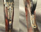 """RIGBY RISING BITE 470 N. E.- BORES as NEW with ORIG. Bbls.- SUPERB 1911 SIDELOCK CLASSIC- 26"""" EJECTOR CHOPPER LUMP Bbls.- OUTSTANDING WOOD - 5 of 7"""