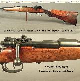 """MAUSER 7 x 57 COMM. OBERNDORF- TYPE B- 24"""" ROUND Bbl.- EXC. PLUS BORE- NEVER DRILLED or TAPPED- 1913- EVERY NUMBER MATCHES EVERYWHERE"""