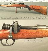 """MAUSER 30-06 COMM. OBERNDORF- TYPE B- 24"""" ROUND Bbl.- EXC. PLUS BORE THAT LOOKS NEW- NEVER DRILLED or TAPPED on TOP- 1922- EVERY # MATCHES"""