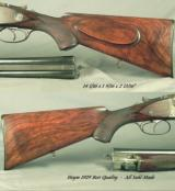 HEYM 1929 DOUBLE RIFLE DRILLING- ORIG. 2 Bbl. SET- 9.3x62 x 9.3x62 x 16&16 x 16 x 9.3x62- BEST QUALITY SUHL MADE- ALL BEST FEATURES- 9.3's RIM - 4 of 5