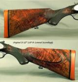 """PURDEY 400 3"""" NITRO- MADE for MAHARANA BHUPAL SINGH- STATE of UDAIPUR- MADE in 1928- BORES REMAIN as NEW- ORIG. O&L TRUNK- EXC. WOOD- 8 Lbs. - 4 of 9"""