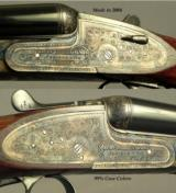 """ARRIETA 16 SIDELOCK- MOD. SPECIAL No. 2 MADE in 2004- 29"""" EJECT CHOPPER LUMP Bbls.- ORIG. & 98% OVERALL COND.- 151/8"""" LOP- STRAIGHT STOCK - 2 of 4"""