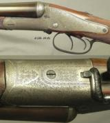 BOSS 12 SIDE LEVER COMPOSITE PAIR- 1 with BOSS Bbls. in 1912 & 1 with NEW 2006 Bbls. by MICHAEL KELLEY in LONDON- BOTH TREVALLION RESTOCKED- EXC. COND - 3 of 11