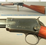 WINCHESTER MOD 62A in 22 SHORT- GALLERY SPECIAL- MADE 1958- TAKEDOWN- WINCHESTER TRADE MARK STAMPED on the RECEIVER- OVERALL 92% ORIG.