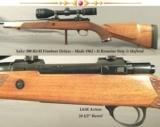 SAKO 300H&H FINNBEAR DELUXE- MADE 1962- L61R ACTION- IT REMAINS NEW & UNFIRED- BURRIS 4.5x - 14x FULLFIELD II SCOPE- 2 OWNERS SINCE 1962- NICE RIFLE