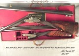 "BOSS & Co.12 BORE PAIR- 3 SETS of Bbls. by PURDEY ABOUT 1970- ORIG. BOSS Bbls. LOST in SHIPMENT- ALL Bbls. ALMOST as NEW- ALL 28"" & 2 3/4""-"
