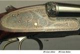 "WILKES 12 BORE PAIR of BEST SIDELOCK GAME GUNS by JOHN & TOM WILKES- 1993 & REMAIN LIKE NEW- 28"" CHOPPER LUMP Bbls.- EXC. WOOD- EXC. ENGRAVING- B - 6 of 11"