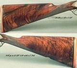 "WILKES 12 BORE PAIR of BEST SIDELOCK GAME GUNS by JOHN & TOM WILKES- 1993 & REMAIN LIKE NEW- 28"" CHOPPER LUMP Bbls.- EXC. WOOD- EXC. ENGRAVING- B - 5 of 11"