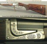 VERNEY-CARRON 600 N. E. DOUBLE RIFLE- MOD. AZUR SAFARI PH- A FULL 14 Lbs. 14 Oz.- 24