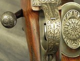 CASARTELLI 416 RIGBY- MAG MAUSER ACTION- SUPERB ENGRAVING by the ITALIAN MASTER Mr. MARIO TERZI- A FULL SIZE TOUGH BUILT RIFLE- 1986- CLAW MOUNTS-NICE - 5 of 8
