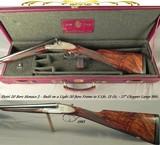 "PIOTTI 20 MODEL MONACO 2 BEST GUN- 27"" CHOPPER LUMP Bbls. w/ BRILEY CHOKES- 1983- OVERALL at 98%- NEAR EXHIBITION WOOD- 5 Lbs. 13 Oz.- GREAT ENGR"