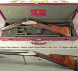 "PIOTTI 20 MODEL MONACO 2 BEST GUN- 27"" CHOPPER LUMP Bbls. w/ BRILEY CHOKES- 1983- OVERALL at 98%- NEAR EXHIBITION WOOD- 5 Lbs. 13 Oz.- GREAT ENGR - 1 of 9"