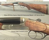 "HEYM 470 N. E. MOD. 88 PROFESSIONAL HUNTER- 24"" EJECT Bbls.- OVERALL 99%- 1/4 RIB w/ 1 STANDING REAR- VERY NICE WOOD- 10 Lbs. 2 Oz.- THE HEYM WOR"