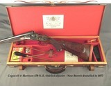 "COGSWELL & HARRISON 470- SIDELOCK EJECTOR- THE BARRELS ARE as NEW & WERE MADE in 1977- 25"" CHOPPER LUMP Bbls.- VERY NICE WOOD- 95% ENGRAVED"