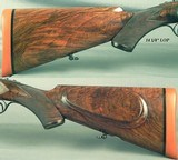 """COGSWELL & HARRISON 470- SIDELOCK EJECTOR- THE BARRELS ARE as NEW & WERE MADE in 1977- 25"""" CHOPPER LUMP Bbls.- VERY NICE WOOD- 95% ENGRAVED - 4 of 8"""