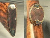 DAKOTA 7 x 57 MODEL 10 DELUXE SINGLE SHOT- EXC. ENGLISH WALNUT with GREAT CONTRAST- APPEARS NEW & UNFIRED- CASE COLORED- OVERALL 99.5% COND.- NICE - 4 of 6