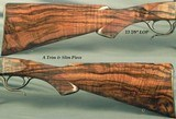 DAKOTA 7 x 57 MODEL 10 DELUXE SINGLE SHOT- EXC. ENGLISH WALNUT with GREAT CONTRAST- APPEARS NEW & UNFIRED- CASE COLORED- OVERALL 99.5% COND.- NICE - 3 of 6