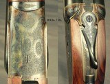 """A CUSTOM 450/400 3 1/4"""" N. E. SIDELOCK EJECT- ACTION by KEITH THOMAS, an ACTIONER at PURDEY- Bbls. by ARTHUR SMITH, BARREL MAKER to the TRADE in - 4 of 6"""