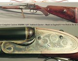 """A CUSTOM 450/400 3 1/4"""" N. E. SIDELOCK EJECT- ACTION by KEITH THOMAS, an ACTIONER at PURDEY- Bbls. by ARTHUR SMITH, BARREL MAKER to the TRADE in"""