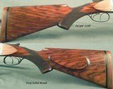 """FRANCOTTE 475 No. 2 N. E.- MADE in 1925- 25"""" EJECT Bbls.- BORES ARE EXC.- WILL PRODUCE 1 3/4"""" GROUPS at 40 YARDS- 9 Lbs. 12 Oz.- STOUT WOOD- - 3 of 6"""