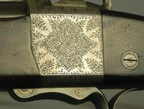 """ALEX HENRY 450 3 1/4"""" BPE BEST GRADE HAMMER SPORTING FALLING BLOCK- EXC BORE- 1881- 95% ENGRAVING COVERAGE- NICE WOOD- 28"""" Bbl.- FULL LENGTH - 4 of 9"""