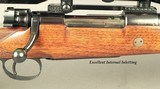 RIGBY- LONDON- 308 WIN.- MAUSER ACTION- BUILT 1983- BORE is NEW- IDEAL for the LADY or KIDS- KAHLES 4 x 32- EXC. INTERNAL INLETTING- OVERALL at 96% - 2 of 4