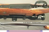 RIGBY- LONDON- 308 WIN.- MAUSER ACTION- BUILT 1983- BORE is NEW- IDEAL for the LADY or KIDS- KAHLES 4 x 32- EXC. INTERNAL INLETTING- OVERALL at 96% - 4 of 4