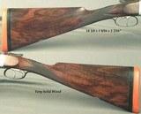 "LANCASTER 12 ""COLINDIAN""- BALL & SHOT OVAL BORE RIFLED GAME GUN- 1895- 1964 BIRMINGHAM NITRO PROVED 30"" STEEL Bbls.- .040"" WALLS - 3 of 4"