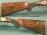 """CHAPUIS 450/400 3"""" N. E.- NEW 2019- MOD. BROUSSE- NICE WOOD- 95% FLORAL ENGRAVING & GAME SCENE- 9 Lbs. 6 Oz.- 25 5/8"""" EJECT Bbls.- AFRICA - 3 of 4"""