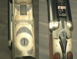 "HEYM 500 3""- 470- 375 H&H & 20 BORE- ORIG. FACTORY 4 Bbl. SET- MOD 88B SAFARI- 1992- MATCHING SERIAL NUMBERS- 375 H&H SCOPED- 20 w/ 7 BRILEY CHOK - 3 of 5"