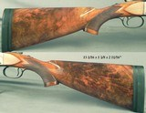 """WINCHESTER MOD 21 FIELD GRADE- 12- VERY NICE WOOD- MADE ABOUT 1950- 30"""" Bbls. at OPEN MOD. & FULL- CASED- GREAT STOCK DIMENSIONS- 15 1/16"""" L - 3 of 5"""