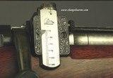 GRIFFIN & HOWE 1926 #128- TOTAL HJALMAR SWENSEN ENGRAVED- 30-06 SPGFLD ACTION- 3 FOLDING LEAF ISLAND SIGHT- ENGRAVED LYMAN RECEIVER SIGHT - 9 of 11