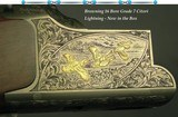 "BROWNING 16 GRADE 7 CITORI LIGHTNING- 7 GOLD INLAYS- REMAINS NEW in the BOX & NEVER ASSEMBLED- 28"" Bbls.- INVECTOR CHOKES- EXC. WOOD- 97% ENGRAVI"